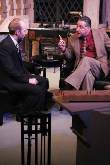 Special to the Daily/Christopher AllemanThe Tony-winning mystery thriller, 'Sleuth,' opened at the Lake Dillon Theatre Thursday and runs through Feb. 10. It's wit, revenge and murder onstage in this timeless whodunit. Info: (970) 513-9386 or www.lakedillontheatre.org.