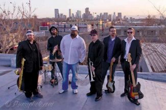 Special to the DailyThe Denver-based group, Rebel Tongue, comes to the Goat Soup & Whiskey Tavern in Keystone tonight. The band melds conscious lyrics with a fusion of hip-hop, funk, jazz and soul.