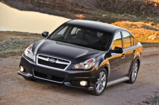 Special to the DailyThe 2013 Subaru Legacy 3.6R Limited offers 256 horsepower.