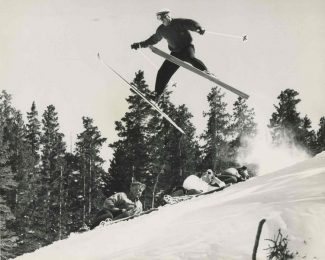 Special to the DailySome things never change - like our love for aerial maneuvers. This undated picture is from Loveland Ski Area's adventurous past.