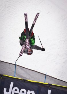 Basalt's Torin Yater-Wallace flies out of the pipe at the Winter X Games in 2013.