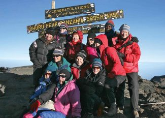 Special to the DailyIn 2011, 11 Summit County women ascended Mount Kilimanjaro. Tonight, led by Linda Ginsberg, they share images from their sunrise summit and the trip that led up to it in the first of the 2013 travel slide show series from Friends of Summit County Libraries.