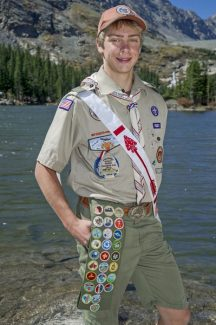 Special to the DailyWade Dufresne Rosko completed more than 300 hours of work on a community service project and earned the requisite merit badges to earn his Eagle Scout Award. The prestigious award is the highest honor given out by the Boy Scouts of America organization.