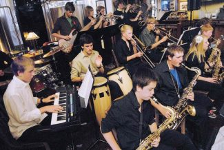 Summit Daily/Mark FoxThe Summit High School jazz band is one of the groups that will perform at Dancing & Delectables Thursday at the Silverthorne Pavilion to raise funds for Summit High School's music program.