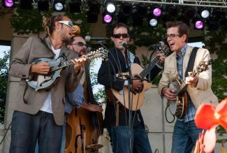 Special to the Daily/Anthony NowackThe Michigan quartet, Fauxgrass, brings its boundary-pushing bluegrass act to The Motherloaded Tavern in Breckenridge tonight. Group members studied under bluegrass greats including Bill Keith, Don Julin and Don Stiernberg.