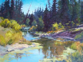 Special to the DailyLocal oil painter Joanne Hanson displays her landscape work and journey into figurative subjects at Arts Alive Gallery in Breckenridge this month. There will be an artist's reception on March 9.