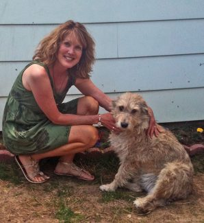 Special to the DailyKaren Martiny with her dog, Alta. Martiny founded the Animal Rescue of the Rockies in 2003 to help shelter dogs and cats find homes.