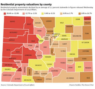 The Denver PostResidential property valuations by county