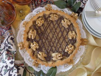 Special to the Daily/Vera DawsonFrench walnut tart