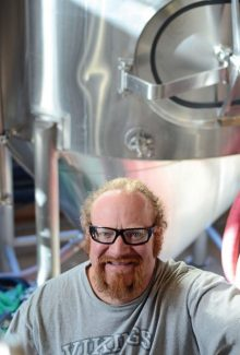 Summit Daily News/Ben TrollingerCory Forster, Dillon Dam Brewery.