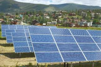The Summit School District is looking to reacha compormise on the solar arrays at Summit Cove Elementary.