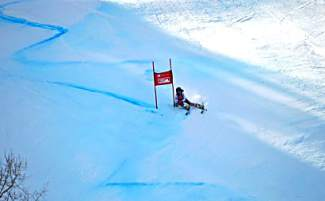 Loveland Ski Club athlete Dasha Romanov competes in giant slalom at the Prater Cup U-14 Junior Championships qualifier in Crested Butte from Feb. 18-21.