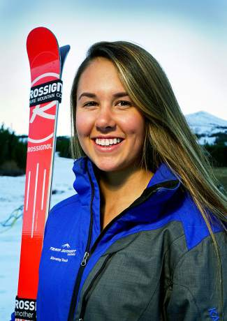 Team Summit U-19 alpine skier Jordan Watts.