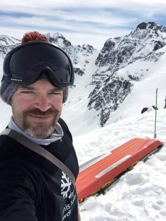 JB Bissell on his first trip to Silverton on March 4, 2016. At the start of the season, the Bissell family set their sights on skiing at least one full day at all 29 Colorado ski areas and completed the journey at Arapahoe Basin on April 24 — dad JB Bissell's birthday.
