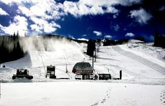 Copper Mountain Resort will kick off their season on Friday featuring top-to-bottom skiing and riding off the American Eagle chairlift and in the Easy Rider learning area. The American Eagle chairlift will start turning for the 2013-2014 season at 9 a.m. on Friday, Nov. 1.