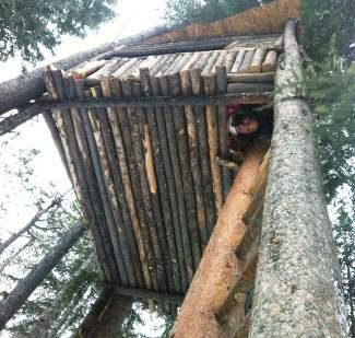 This in-bounds tree house was torn down on Vail Mountain in the spring of 2011. Vail Resorts spokesperson Russ Pecoraro says illegal structures like this one are erected and torn down every season.