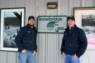 Brothers Chris and Bill Tatro own Snowbridge Inc. in Breckenridge. Their team takes on pumping and plumming jobs mainly in Summit and Eagle counties.