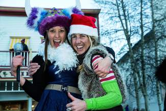 The wild and wacky Ullr Fest parade brings all kinds of customs to Main Street in Breckenridge.