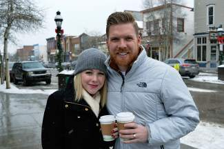 Caroline and Zeke Eidson are visiting Summit County from Oklahoma.