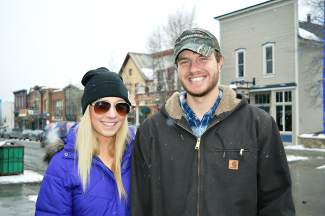 Liz and Nick were up for the day from Fort Collins.