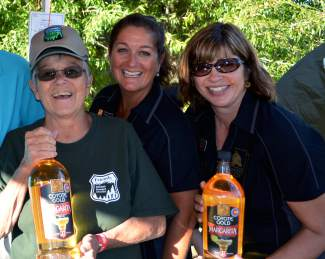 The Friends of the Dillon Ranger District team was serving up brews and margaritas at the Fall Fest in Frisco on Saturday, Sept. 12. A portion of the proceeds benefitted this local nonprofit that helps to maintain and improve trails, plant trees and educate locals and visitors about national lands.