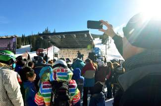 Several hundred people came to Center Village in Copper on Nov. 21 for the U.S. Alpine Ski Team naming ceremony. The annual event included appearances by Mikaela Shiffrin, Ted Ligety, Lindsey Vonn and their developmental team counterparts.