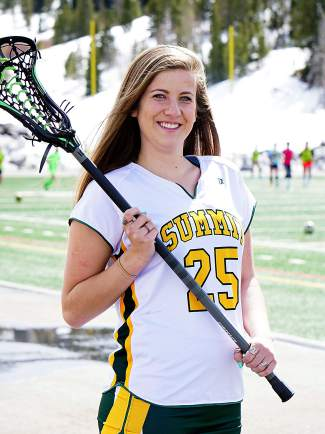 Summit High junior lacrosse captain Loren Keen.