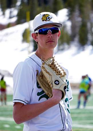 Summit High junior pitcher Andrew Shaw. With six games remaining in the regular season, Shaw is ranked No. 2 in the 4A Western Slope and No. 8 in the 4A state standings with 49 strikeouts and two complete games.
