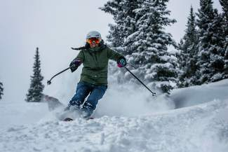 Both spring breakers and longtime locals took to the area slopes to enjoy the first major dumping of snow this March, which is typically the region's snowiest month. Copper Mountain Resort reported 7 inches Tuesday with the week's forecast suggesting more on the way.