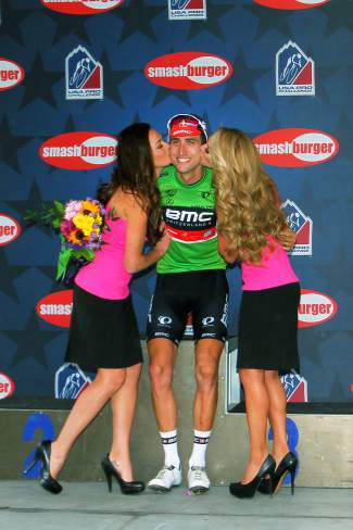 Stage 1 winner Taylor Phinney (BMC) lost the yellow jersey but held onto the overall sprint leader title after Stage 2 at Arapahoe Basin on Aug. 18.