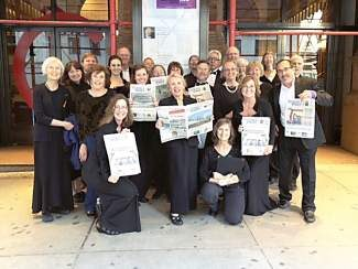 Ever since members of the Summit Choral Society returned from a trip to Carnegie Hall this spring, their hearts and heads have been full of the messages of Broadway. They will get a chance to share a taste of the Big Apple with Summit County audiences in two nights of New York-themed concerts on Monday and Tuesday.