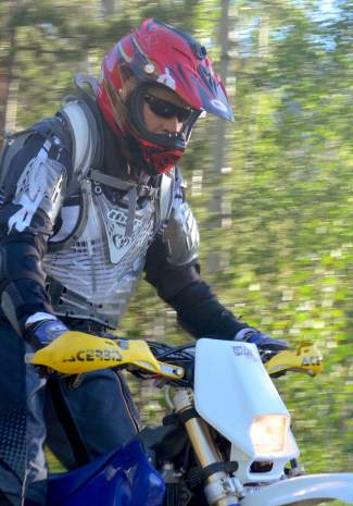 Tim Nixon, president of Summit County Off-Road Riders.