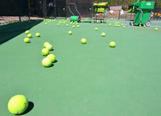 The Breckenrige tennis pros host a slate of drop-in clinics throughout the summer, including beginner-friendly clinics on Mondays, Tuesdays and Saturdays.