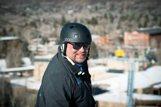 Team Summit Alpine Director Greg Needell at the Ajax Cup, a fundraiser in the Aspen area, where he spent several years with the Aspen Valley Ski and Snowboard Club before coming to Summit. Needell died unexpectedly before the start of summer training at Mammoth Mountain on June 7.