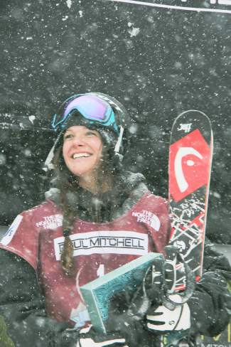 U.S. team freeskier Keri Herman of Breckenridge, took first place in the U.S. Grand Prix slopestyle competition at Breckenridge in January. The Olympic qualifier win put her on the road to the Winter Olympics in Sochi Russia.