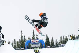 Benton Obregon airs out of the pipe during the 2015 USASA Nationals at Copper Mountain. The event returns to Copper for two weeks from April 2-12, bringing hundreds of youth skiers and snowboarders from across the nation.
