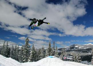 Gregory Spaulding of Frisco airs off a jump on his way to winning the men's open division at an event in Copper in 2014. The USASA Nationals return to Copper for two weeks beginning April 2.