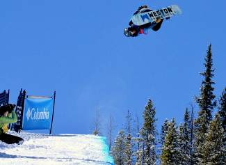 Rakai Tai of Eagle during the men's open division qualifier at the USASA National Championships in Copper on April 7.