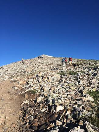Summit County spent $412,000 as part of its Open Space and Trails Program to acquire 90 acres of land in 2015. Two of its 20 transactions helped secure permanent winter trail access to Quandary Peak, pictured here.
