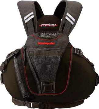 The Stohlquist Rocker Type II PFD ($100-$150) designed for male paddlers.