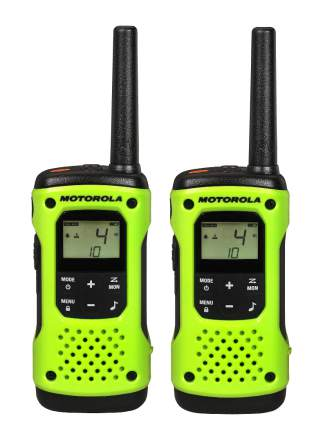 The Motorola Talkabout T600 H20 two-way radios ($199.99) made to survive up to 30 minutes underwater.