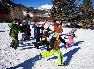 "Local kids play during last year's Winter Sensation Vacation day camp in Frisco. Also known as the ""No School"" day camp, the program provides working parents with a place to send their kids during holiday breaks from school."