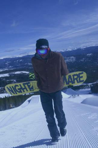 ZGriff hikes the Peak 8 superpipe at Breckenridge for an On The Hill segment, his daily ode to all things Summit County captured through the fisheye lens of a GoPro camera.