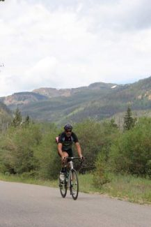 A cyclist cruises along the Vail Pass Rec Path last summer. As of May 1, AAA Colorado has added bicycling to their roadside assistance  services. Now stranded mountain bikers and cyclists can use AAA for a pickup as long as they are at a vehicle accessible trailheado or on a publicly maintained road . Colorado is only one of 4 other regions that currently offers the service.