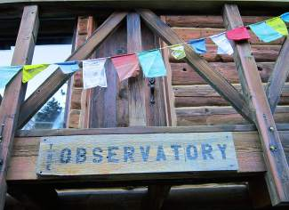 The Observatory — a mountain lodge in walking distance of fishing, hiking and even a ghost town —was built in the 1970s.