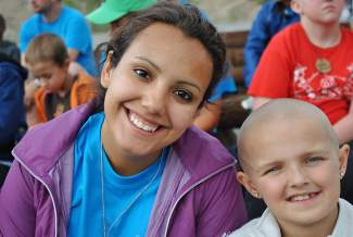 Jennifer Ortiz is a 2013 Battle Mountain High School graduate and was a Roundup River Ranch camper the first two years the camp was open. She had a heart transplant when she was 12 years old, and is now a summer staffer.