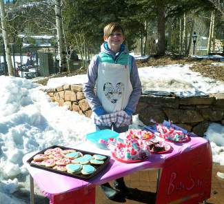 Local 11-year-old entrepreneur Devon Clarke kept the rugby players fed and happy at the Valentine's Day Massacre rugby tournament at Breck's Kingdom Park over Valentine's Day weekend, shot by #sumcosports