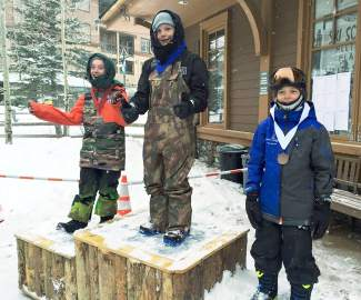 Congrats to Team Summit snowboarder Bodie Heflin for taking third at the sloepstyle competition in Winter Park in early February, captured by @teamsummit