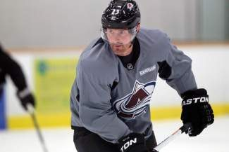 AP FILE  Photo- Jan. 14, 2013 - Former Colorado Avalanche star forward Milan Hejduk (pictured) will be among the celebrity hockey players particpating in this weekend's Summit Hockey Classic in Breckenridge. Proceeds benefit Summit Youth Hockey.