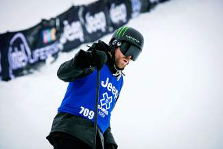 Jossi Wells didn't compete in the ski superpipe competition at the Winter X Games this year to focus on slopestyle and big air. The decision paid off Sunday in slopestyle.